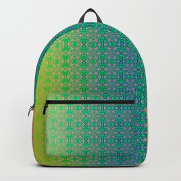 Ombre ornamental pattern Backpack