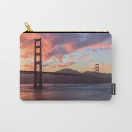 Golden Gate at sunset Carry-All Pouch