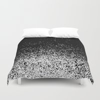 infinity Duvet Covers featuring infinity by Bunny Noir