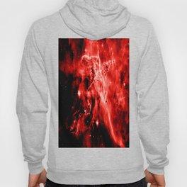 galAXY. Red Mystic Mountain Nebula Hoody