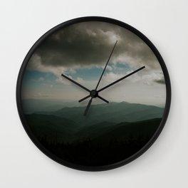 SPLENDOR OF THE SMOKIES Wall Clock