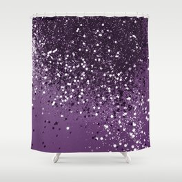 PURPLE Glitter Dream #1 #shiny #decor #art #society6 Shower Curtain