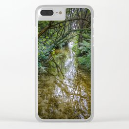 Hamurana Springs 1 Clear iPhone Case