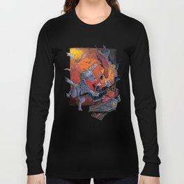 Werewolf vs Vampire Long Sleeve T-shirt