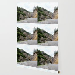 Drive Around the Curve onto a Shelf Above the Spectacular, but Frightening, Uncompahgre Gorge Wallpaper