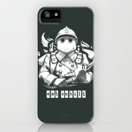 Eat Schilt iPhone Case