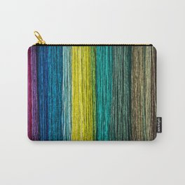 Multi Coloured Rope Carry-All Pouch