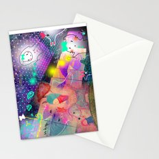 Sadness  Stationery Cards