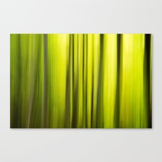 Fast Trees Canvas Print