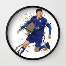 Jamie Vardy - Leicester City FC Wall Clock