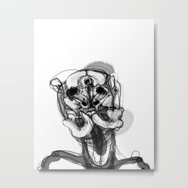 Memory Portrait II Metal Print