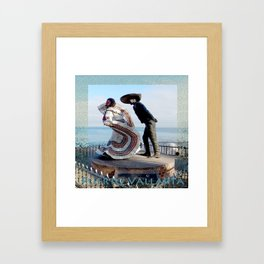 Puerto Vallarta, Mexico Sculpture by the Sea Framed Art Print