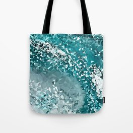 Crashing Tris Tote Bag