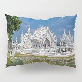 White Temple Thailand Pillow Sham