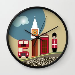 London England Wall Clock