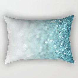 MERMAID GLITTER - MERMAIDIANS AQUA Rectangular Pillow