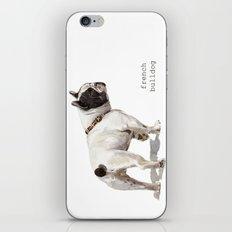 French Bulldog A050 iPhone & iPod Skin