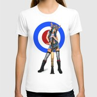 tank girl T-shirts featuring Tank Girl by Valérie Loetscher (Vay)