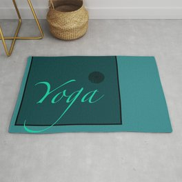 Yoga Blue Rug