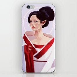 Elf Lady Painting iPhone Skin
