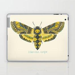 """Acherontia atropos"" Moth Laptop & iPad Skin"