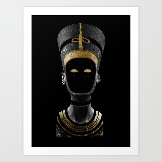 Nefertiti AD (revisited) Art Print