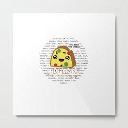 Fruitcake Metal Print