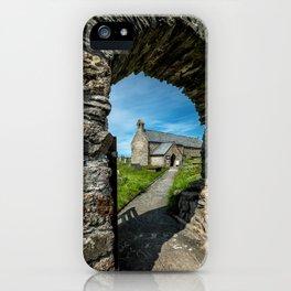 Church of Llanbadrig iPhone Case