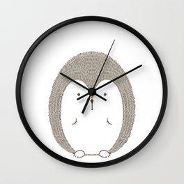 Cute Porcupine Dikobraz Wall Clock