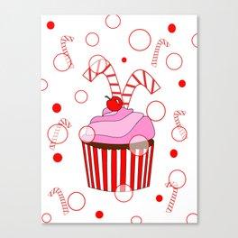 Festive Cupcake Canvas Print