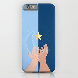 The moon and the stars for you-Fantasy-Surreal iPhone Case