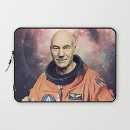 Captain Picard - Astronaut in Space Laptop Sleeve
