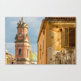 Sienna in Salerno Canvas Print
