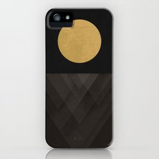 Moon Reflection on Quiet Ocean iPhone (5, 5s) Slim Case