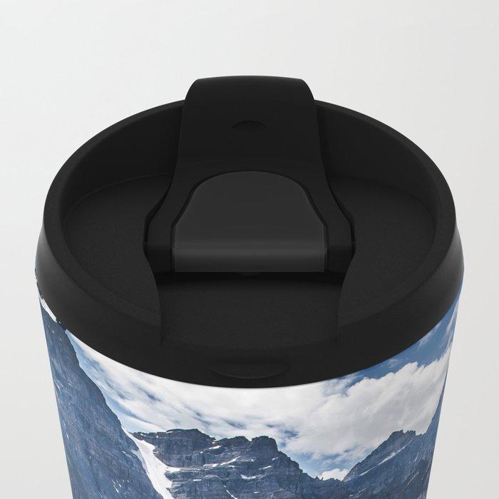 Lake Moraine Banff Metal Travel Mug