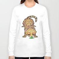 cheetah Long Sleeve T-shirts featuring Cheetah by Suzanne Annaars