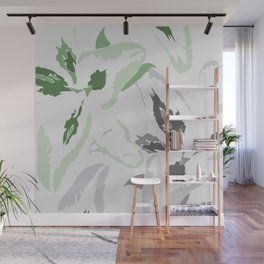 FLORAL ABSTRACTION 2 Wall Mural