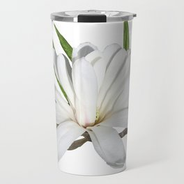 The Flower is the Star (Magnolia) Travel Mug