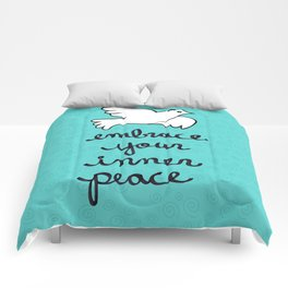 Embrace Your Inner Peace Comforters