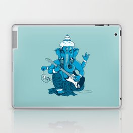 Ganesha rocks ! (v3) Laptop & iPad Skin