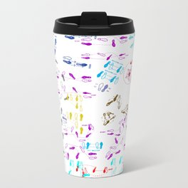 Disco Duck Metal Travel Mug