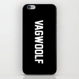 VagWoolf2 iPhone Skin