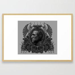 Lovecraft as Deepone Framed Art Print