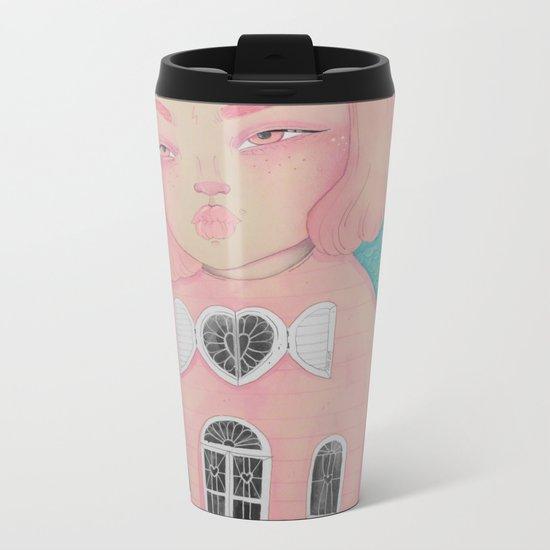 Dollhouse Metal Travel Mug