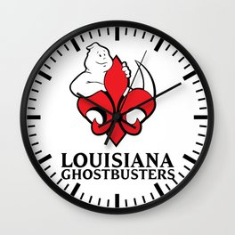 Louisiana Ghostbusters Wall Clock