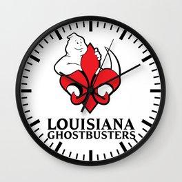 Louisiana Ghostbusters Wall Clock