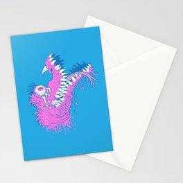 One Eyed Bubblegum Beast Stationery Cards