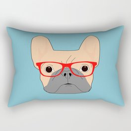 Fawn Bulldog Rectangular Pillow