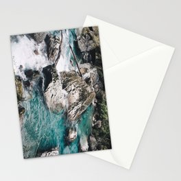 Glacial River Stationery Cards