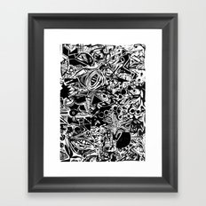 Black/White #1 Framed Art Print